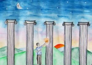 Homöopathie Säulen 72 dpi